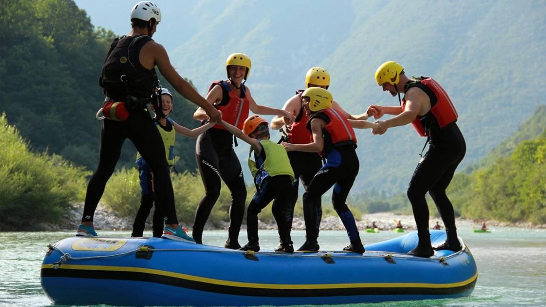 Családi rafting