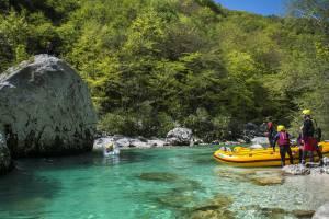 Whitewater rafting Slovenia