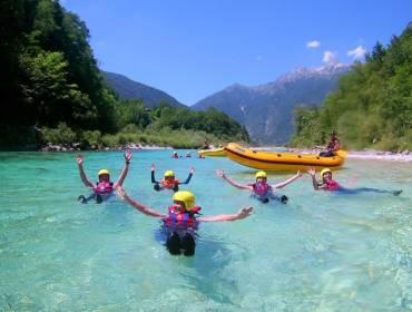 Družinski rafting