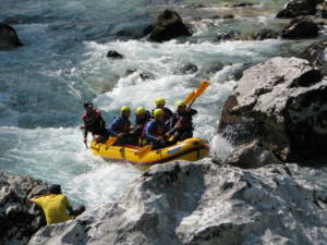 Slovenia rafting